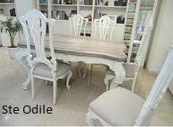 Restauración: Mesa madera restaurada y  patinada en 2 tonos: Catálogo de Ste Odile Decoración