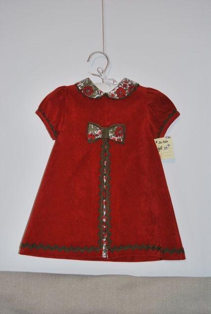 Vestido rojo de micropana: Catálogo de Ste Odile Decoración