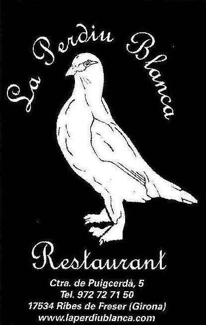 Menú diario en Ribes de Freser (Gerona)