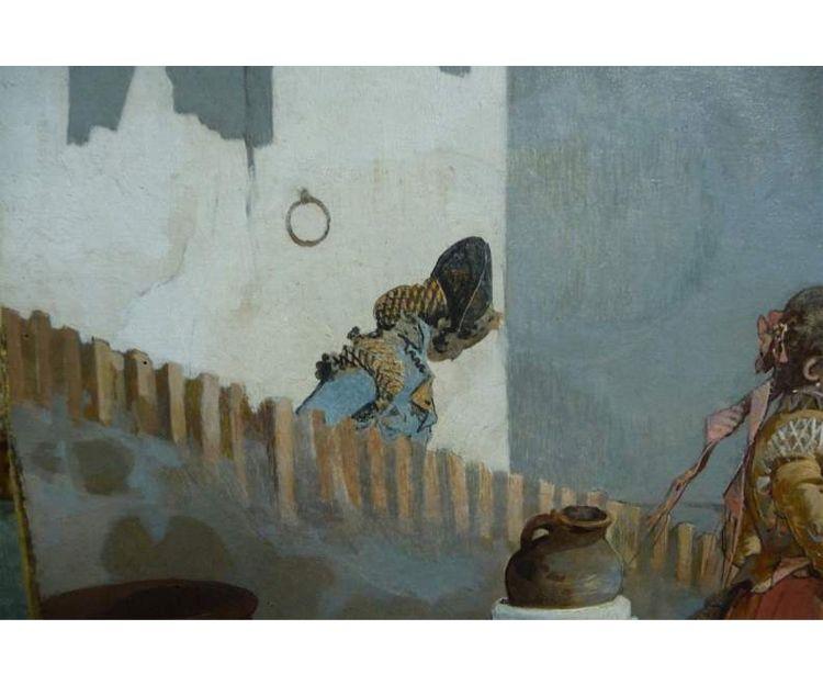 Restauración de óleo sobre lienzo en Oviedo