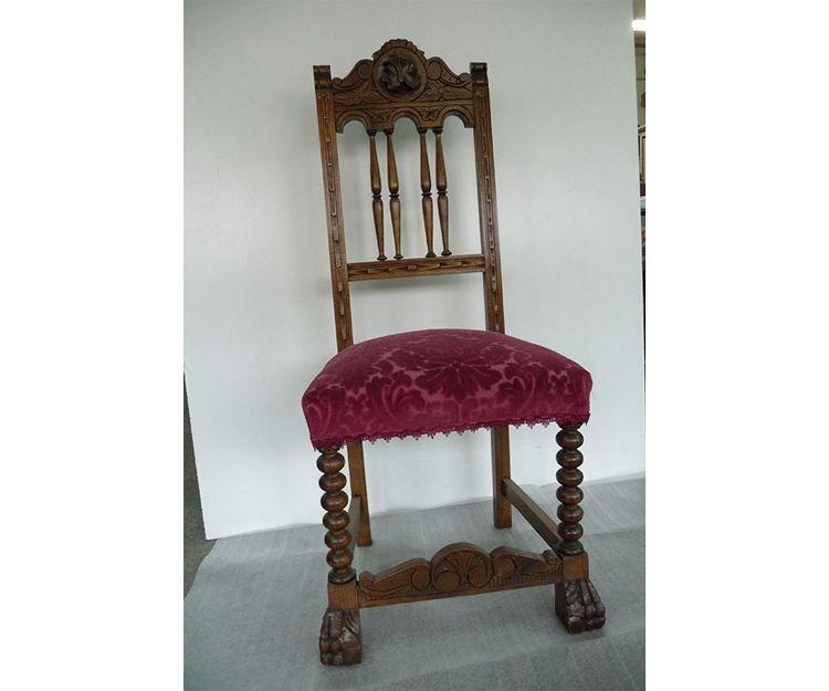 Restauración de sillas en Oviedo