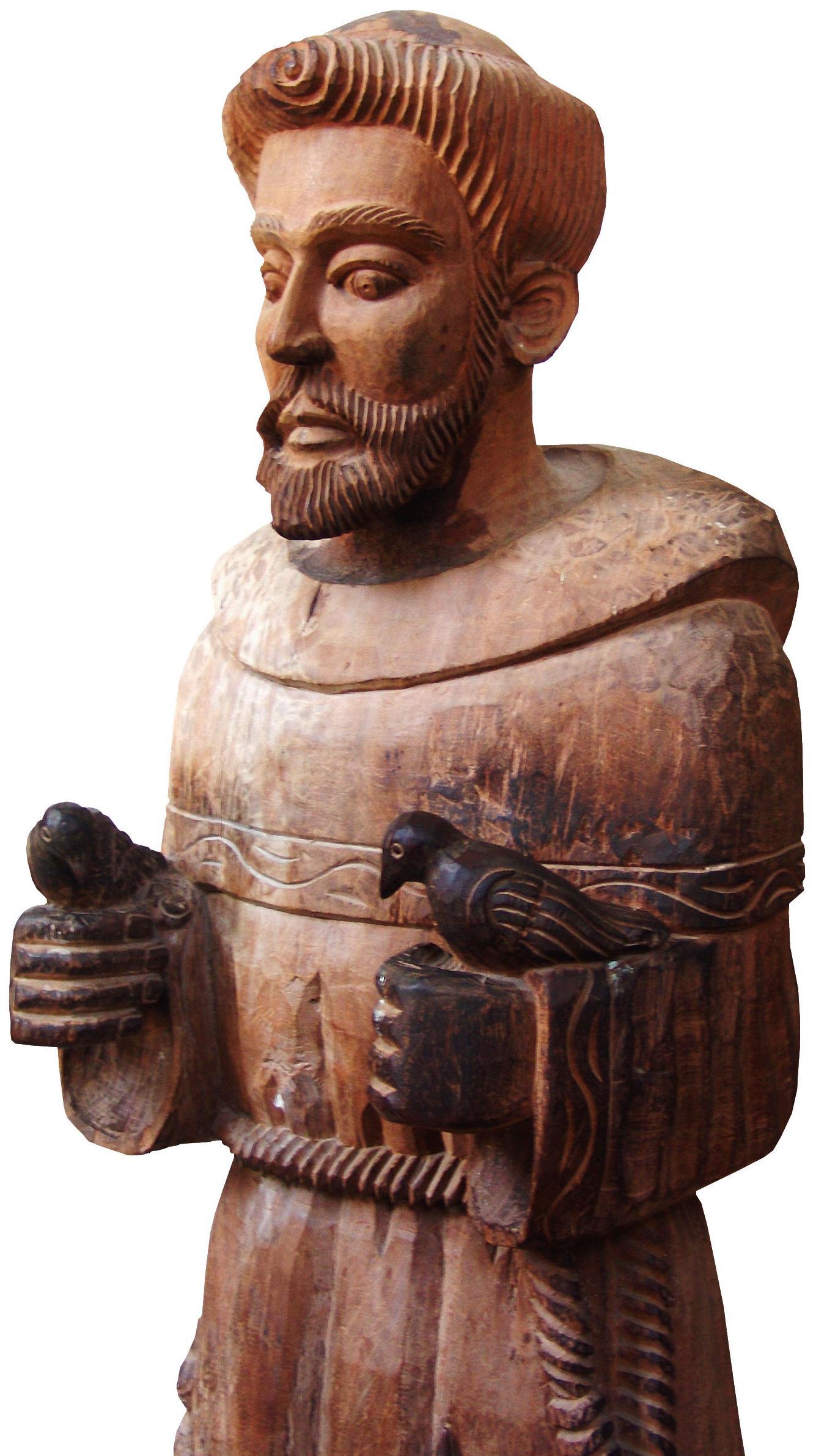 Tratamientos anticarcoma , limpieza y consolidación de la madera en esculturas