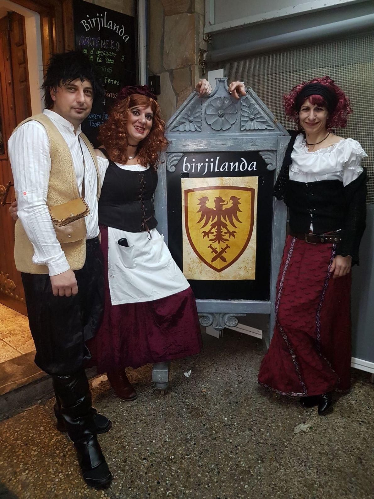 "Carnaval en Restaurante Birjilanda ""Las Mesoneras"""