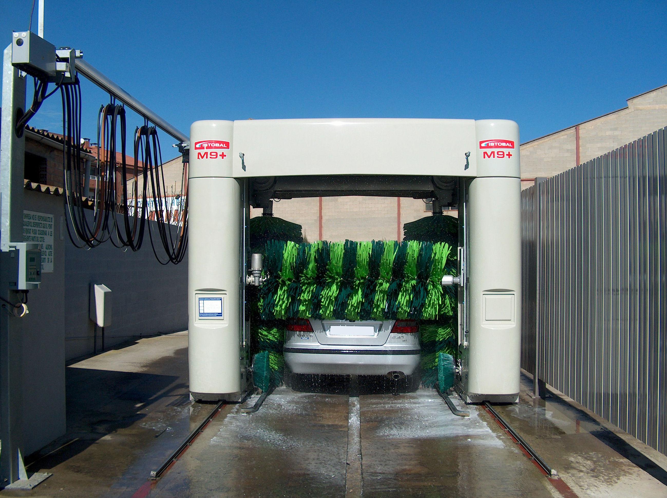 Puente de lavado para vehículos