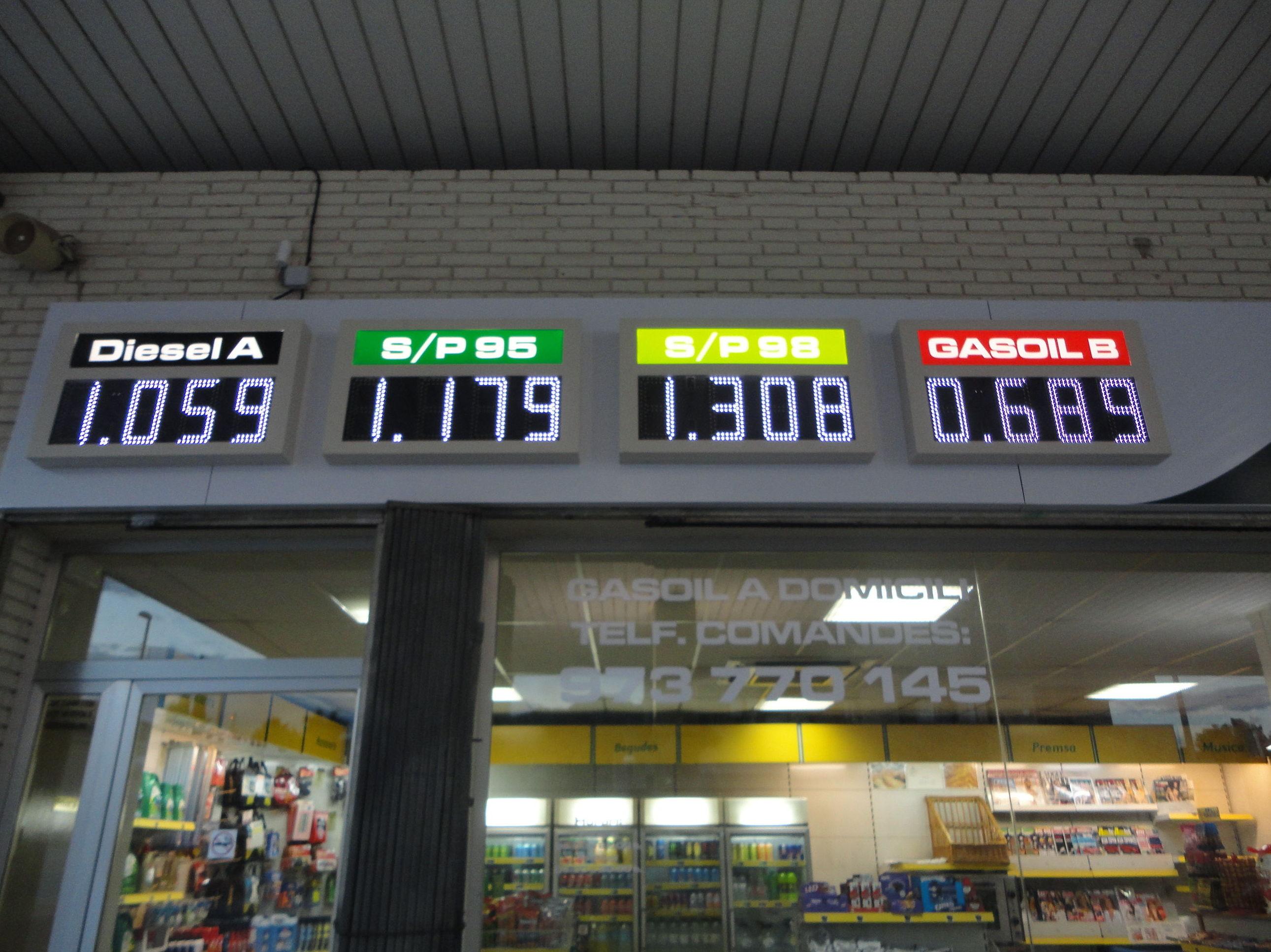 Foto 24 de Gasóleo en  | Estació de Servei Segrià