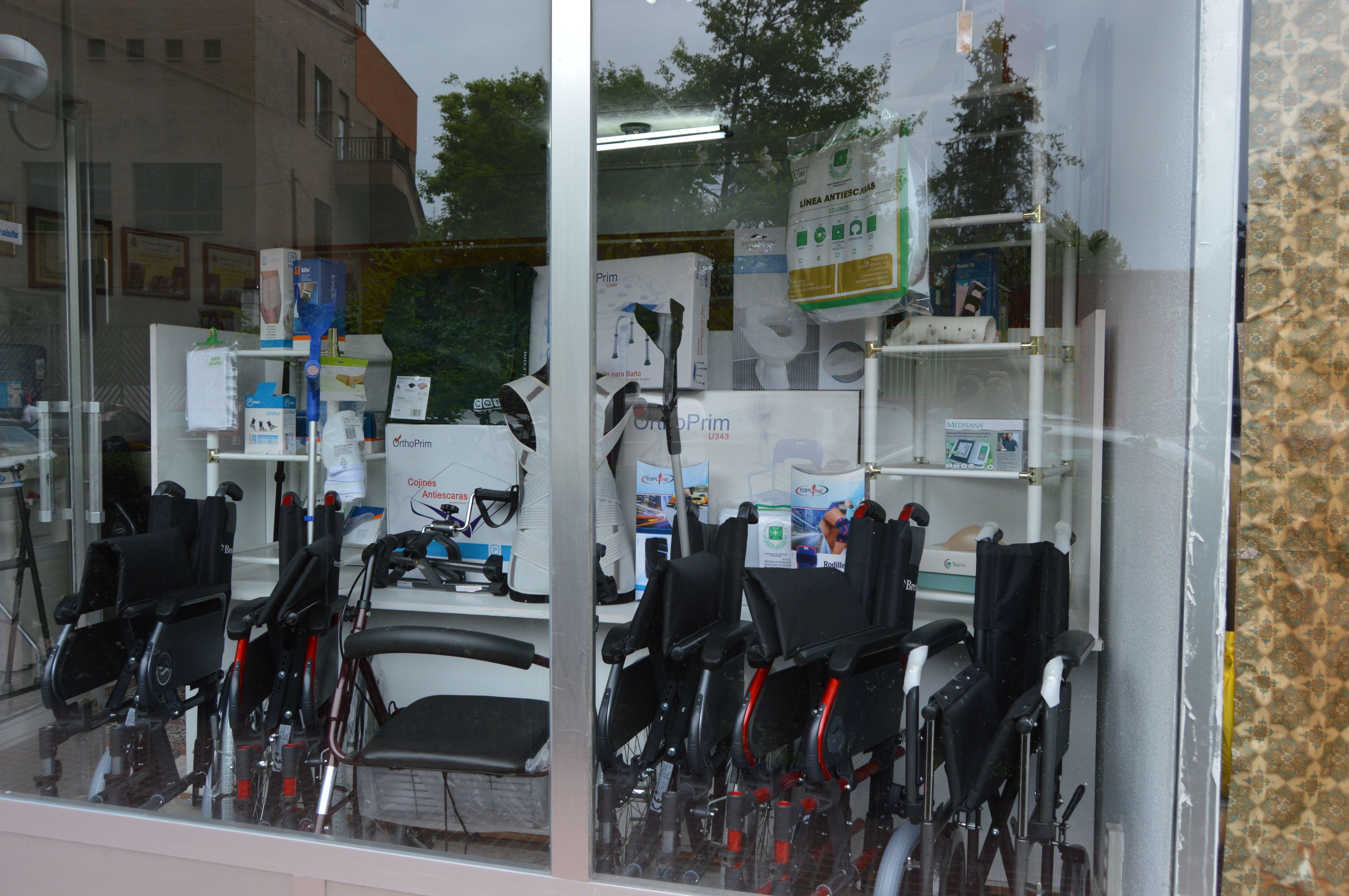 sillas de rueda Móstoles