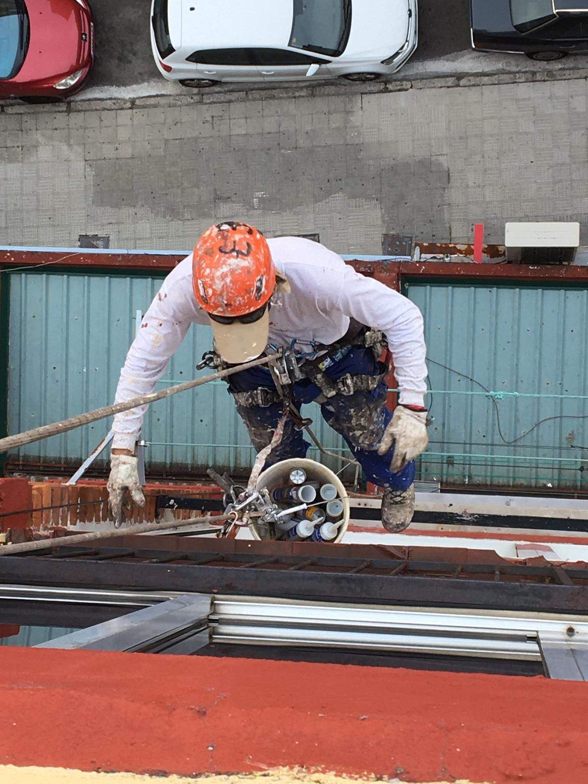 Reformas en exteriores para mantenimiento de edificios