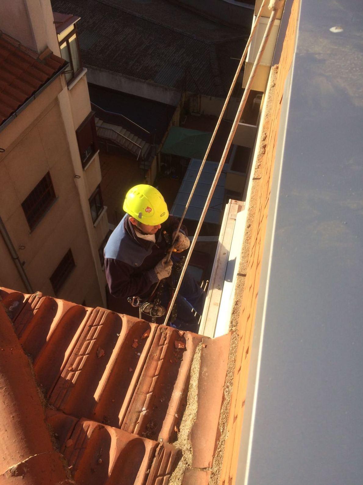 Trabajos de fachadas Salamanca