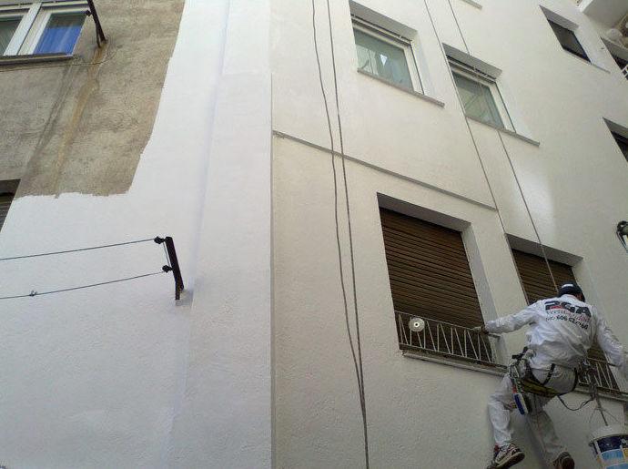 Reforma y mantenimiento de fachadas