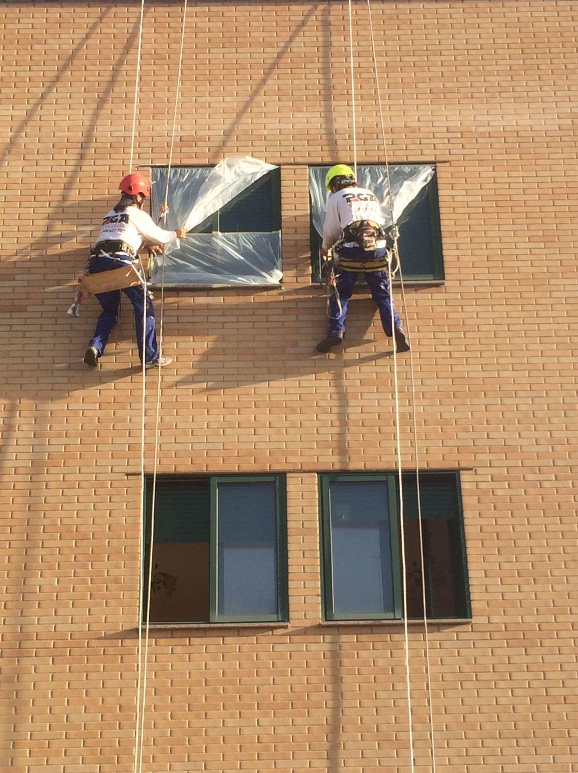 Foto 39 de Trabajos verticales en  | PGA Verticalidad