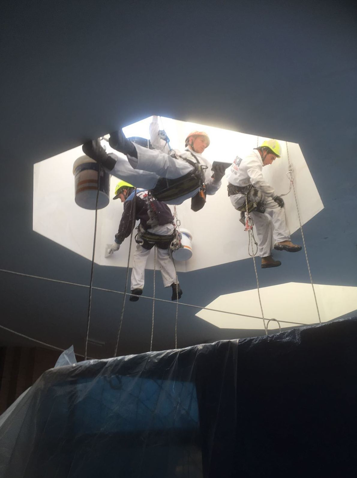 Foto 23 de Trabajos verticales en  | PGA Verticalidad