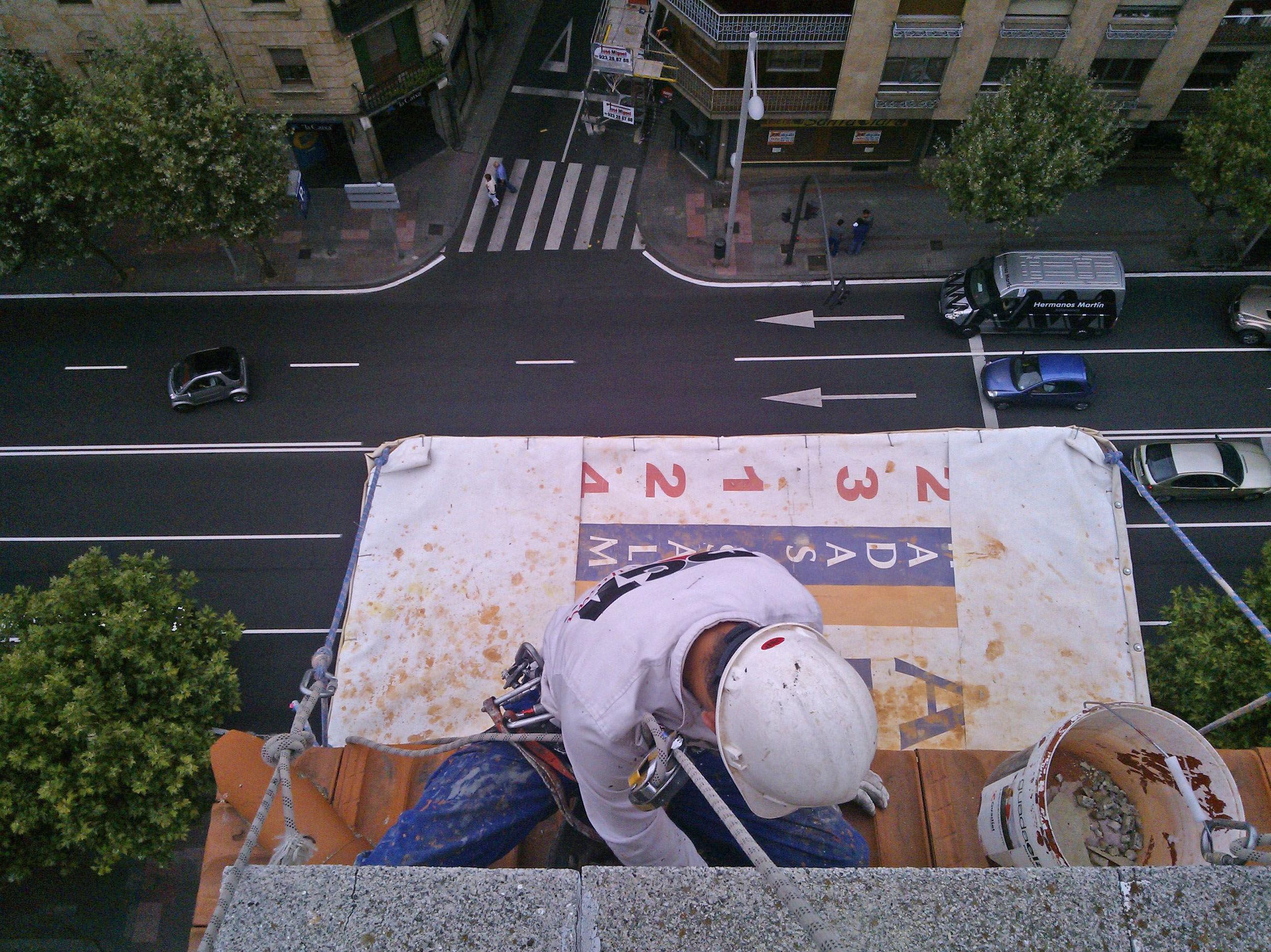 Trabajos verticales en Salamanca