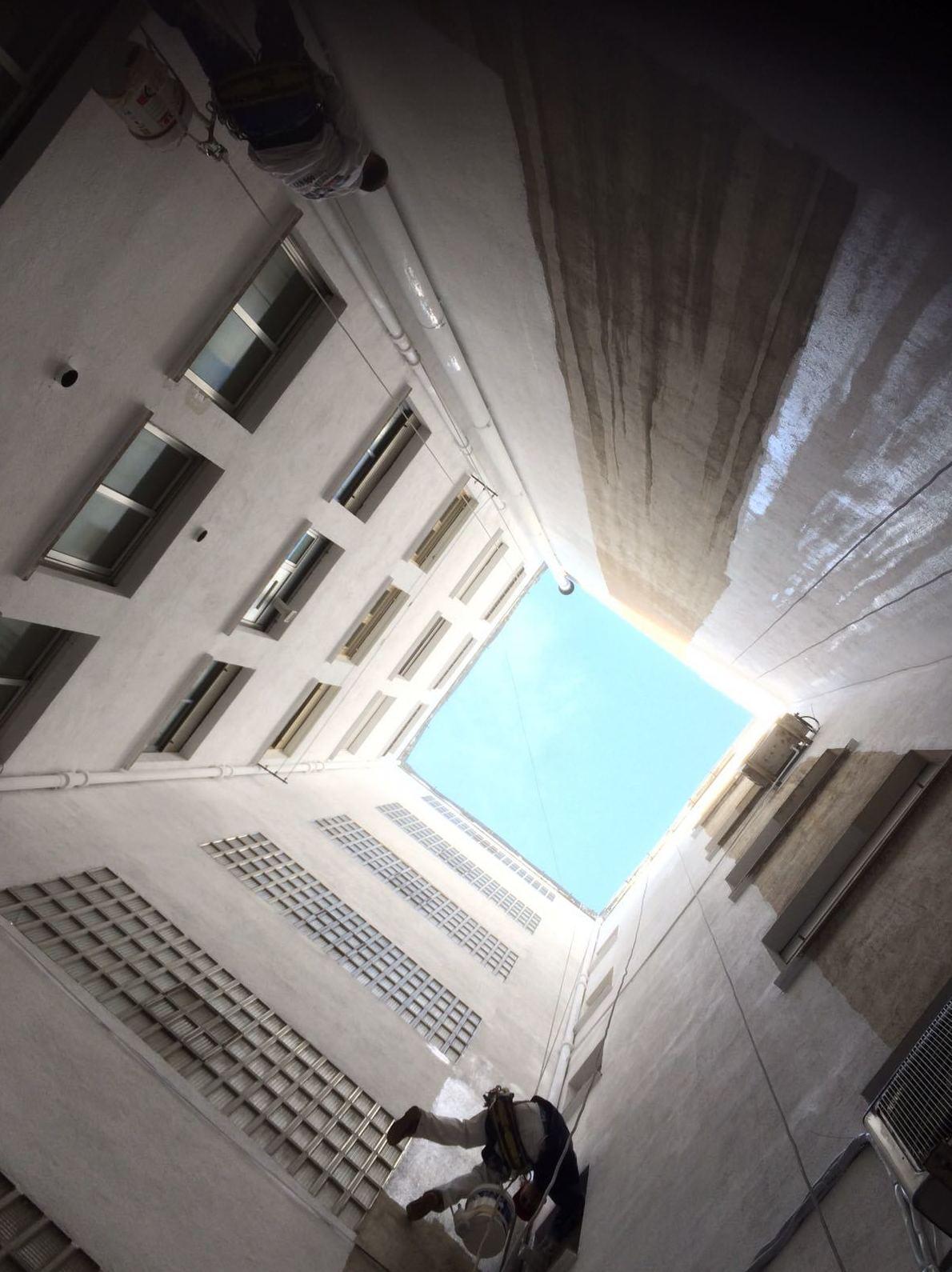 Rehabilitación de patios interiores Salamanca