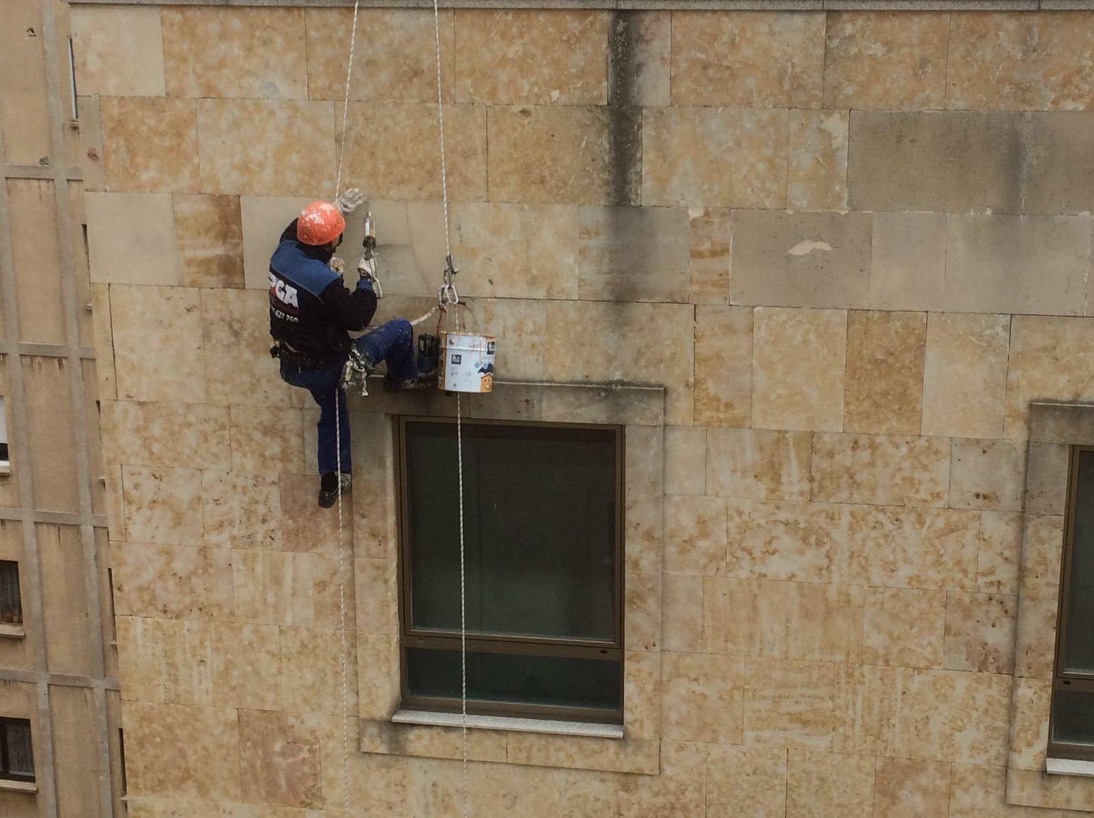 Limpieza de fachadas Salamanca