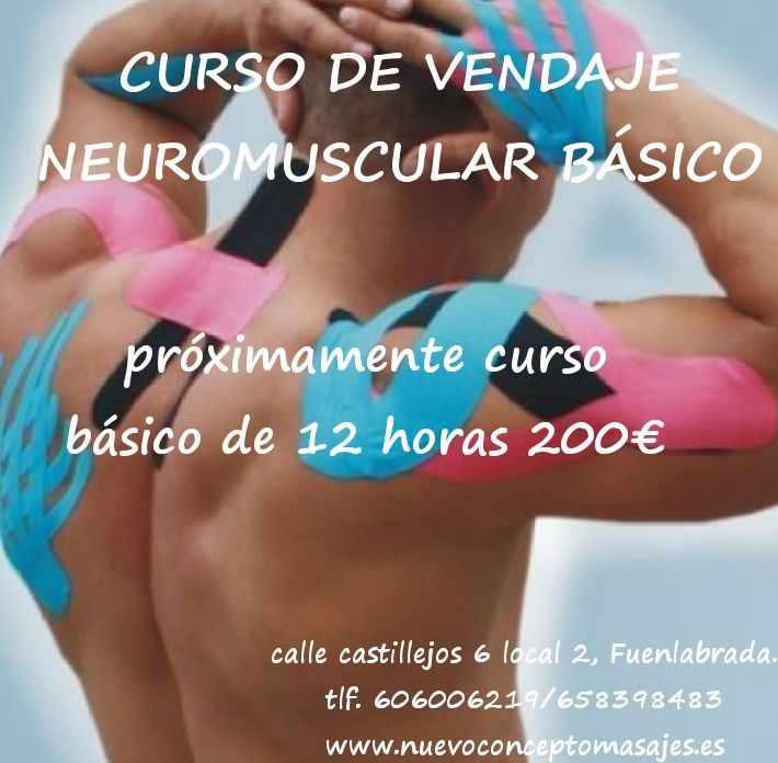 Curso de vendaje neuromuscular básico