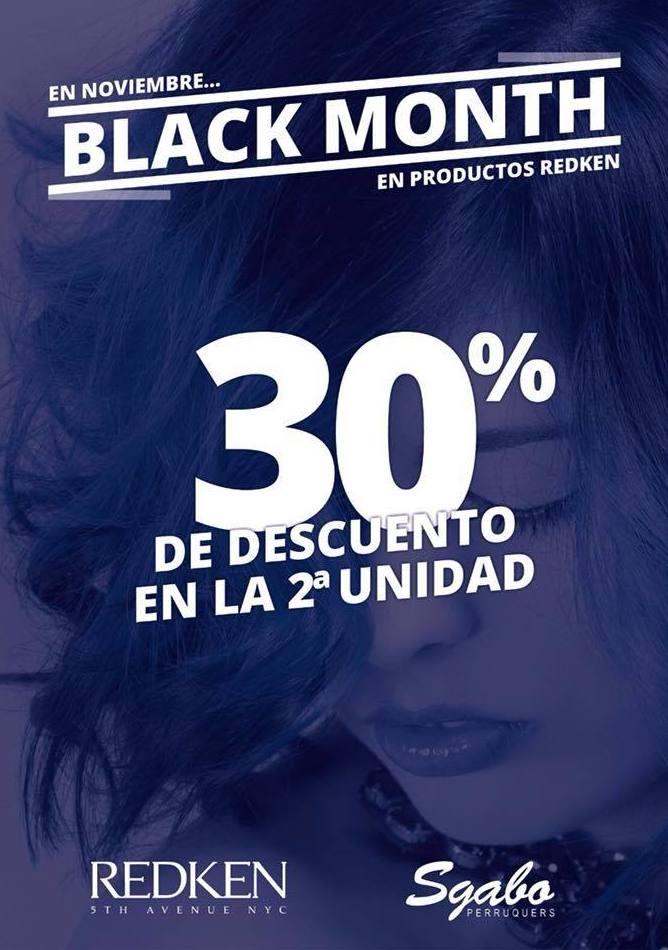 En noviembre 30% de descuento en productos Redken
