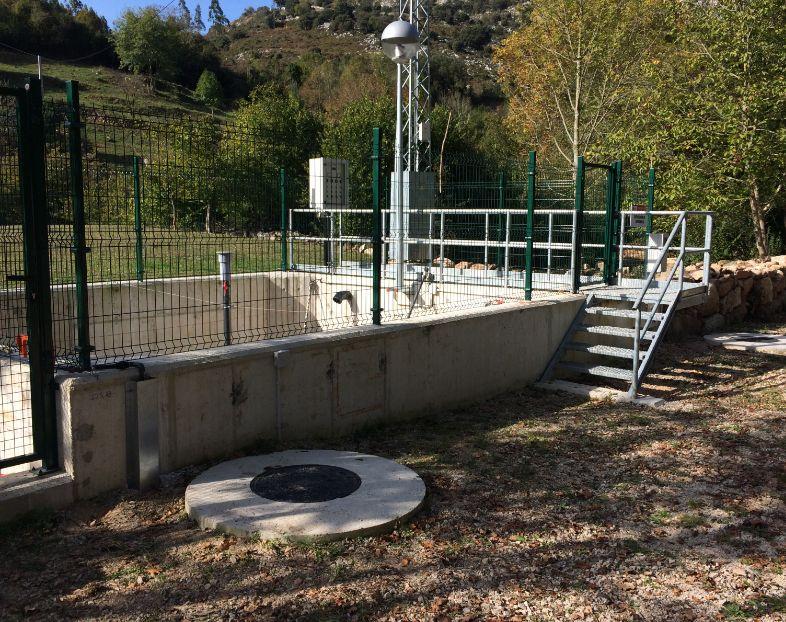 Redes de abastecimiento y saneamiento Cantabria