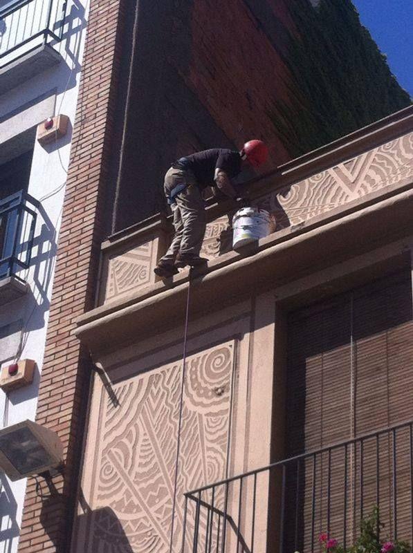 Rehabilitación de edificios en la zona del eixample en Barcelona