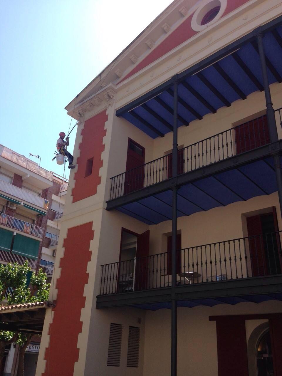Rehabilitación de edificios en la zona Vallés