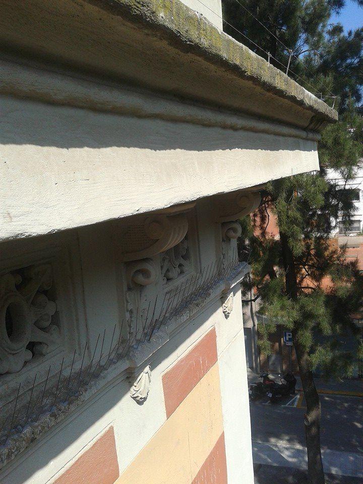 Mantenimiento de fachadas en el eixample en Barcelona