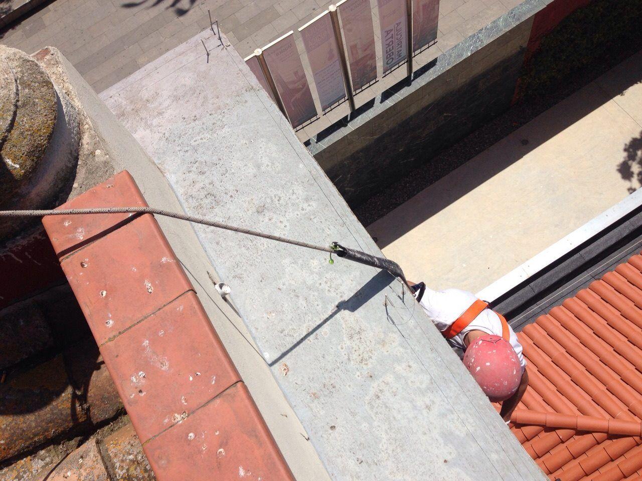 Expertos en trabajos en suspensión en el eixample de Barcelona