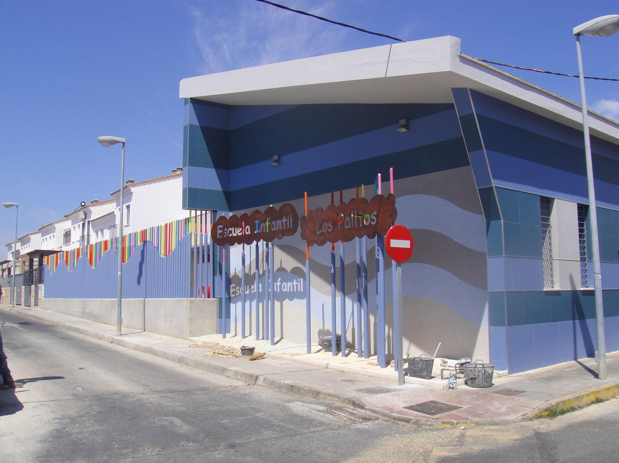 """Fachada Sur Escuela Intantil """"LOS PALITOS"""""""