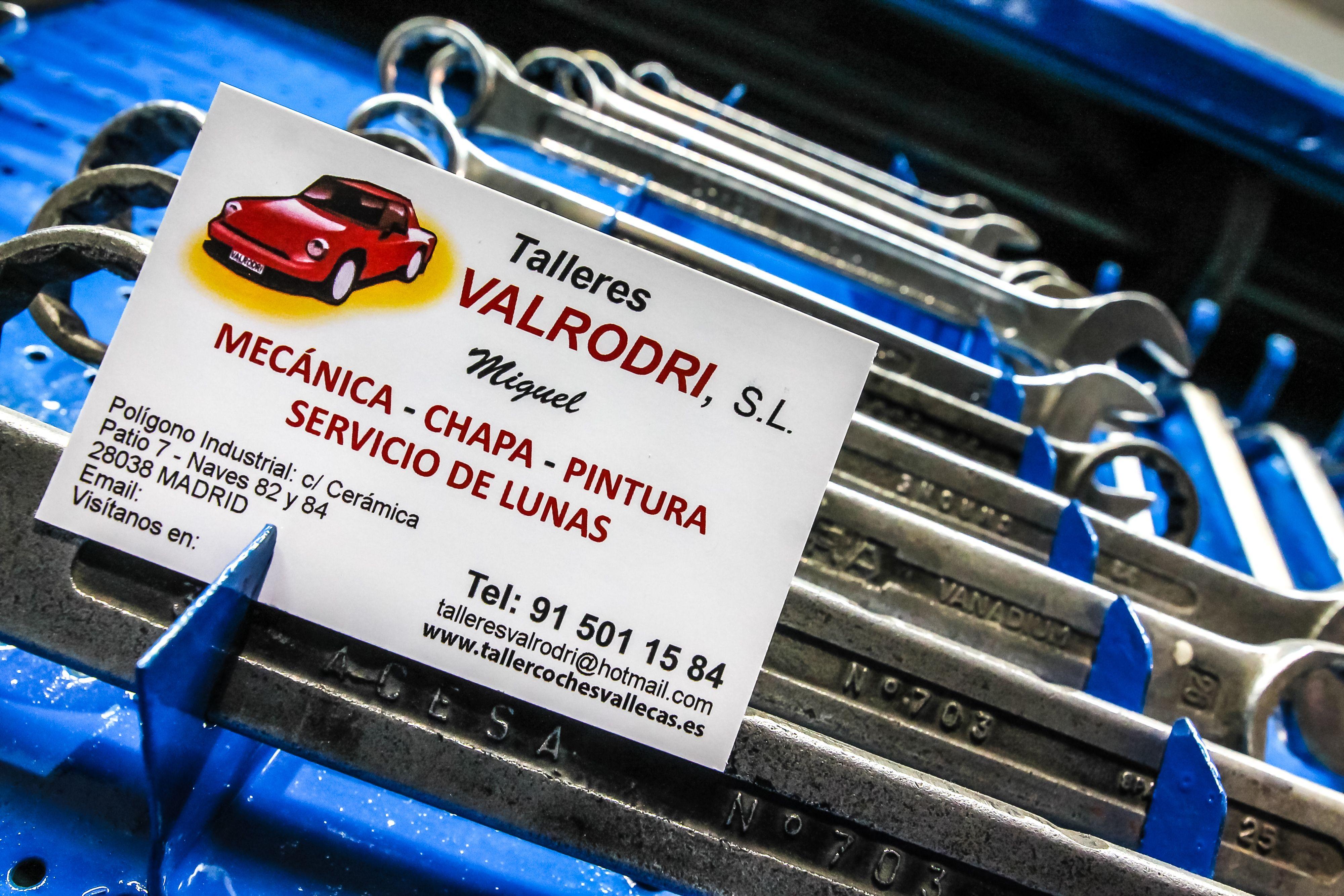 Foto 3 de Talleres de automóviles en Madrid | Talleres Valrodri