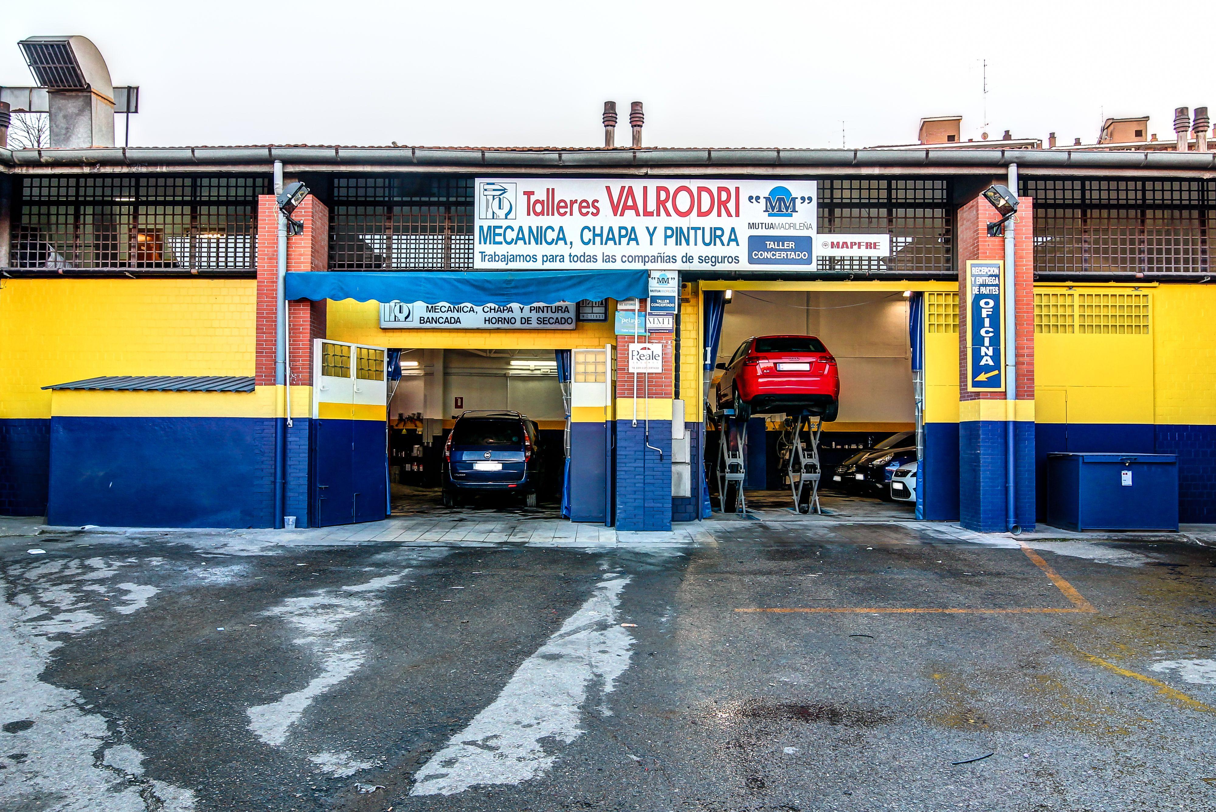 Foto 1 de Talleres de automóviles en Madrid | Talleres Valrodri