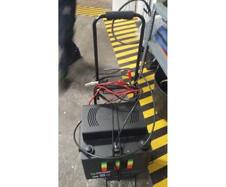 Limpieza del circuito de admision y escape con hidrogeno