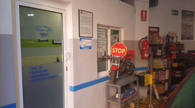 Instalaciones del taller mecánico en Valencia