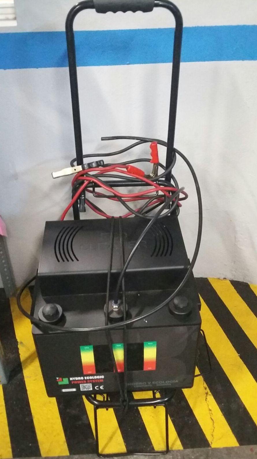 Arranque del motor térmico con el alternador