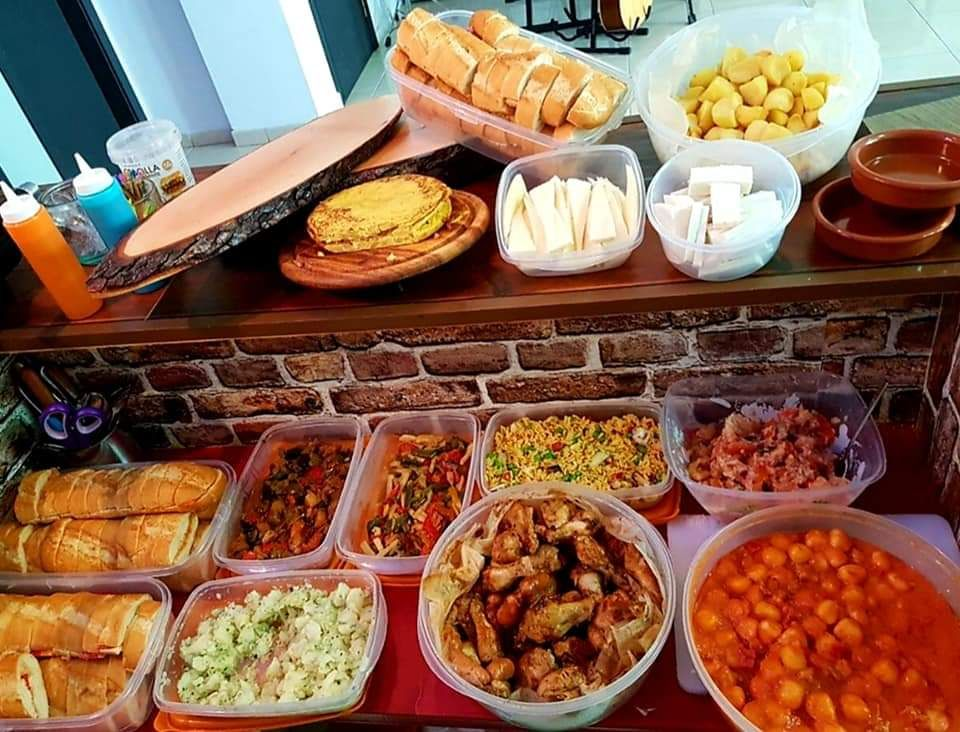 Snack platters to share