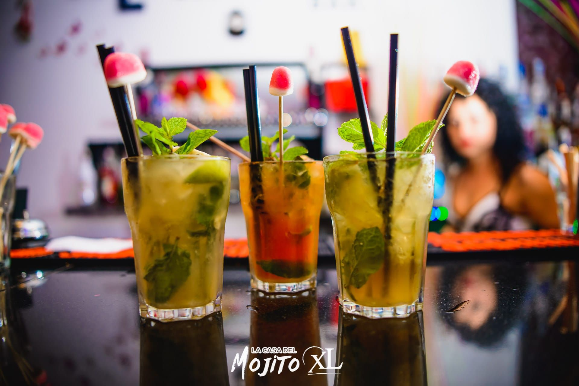 More than 50 kinds of mojitos