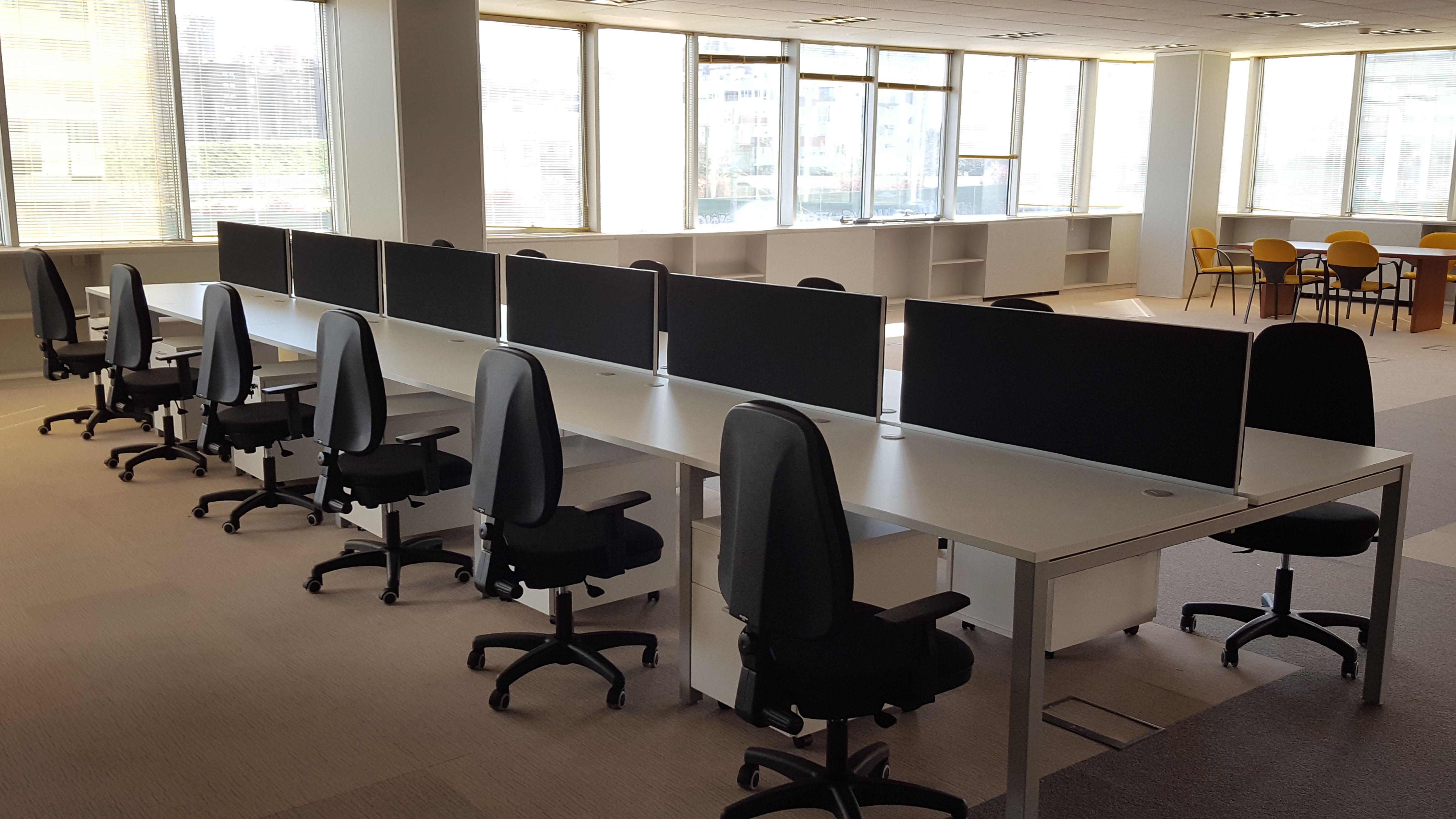 Equipamiento integral de gran calidad para oficinas