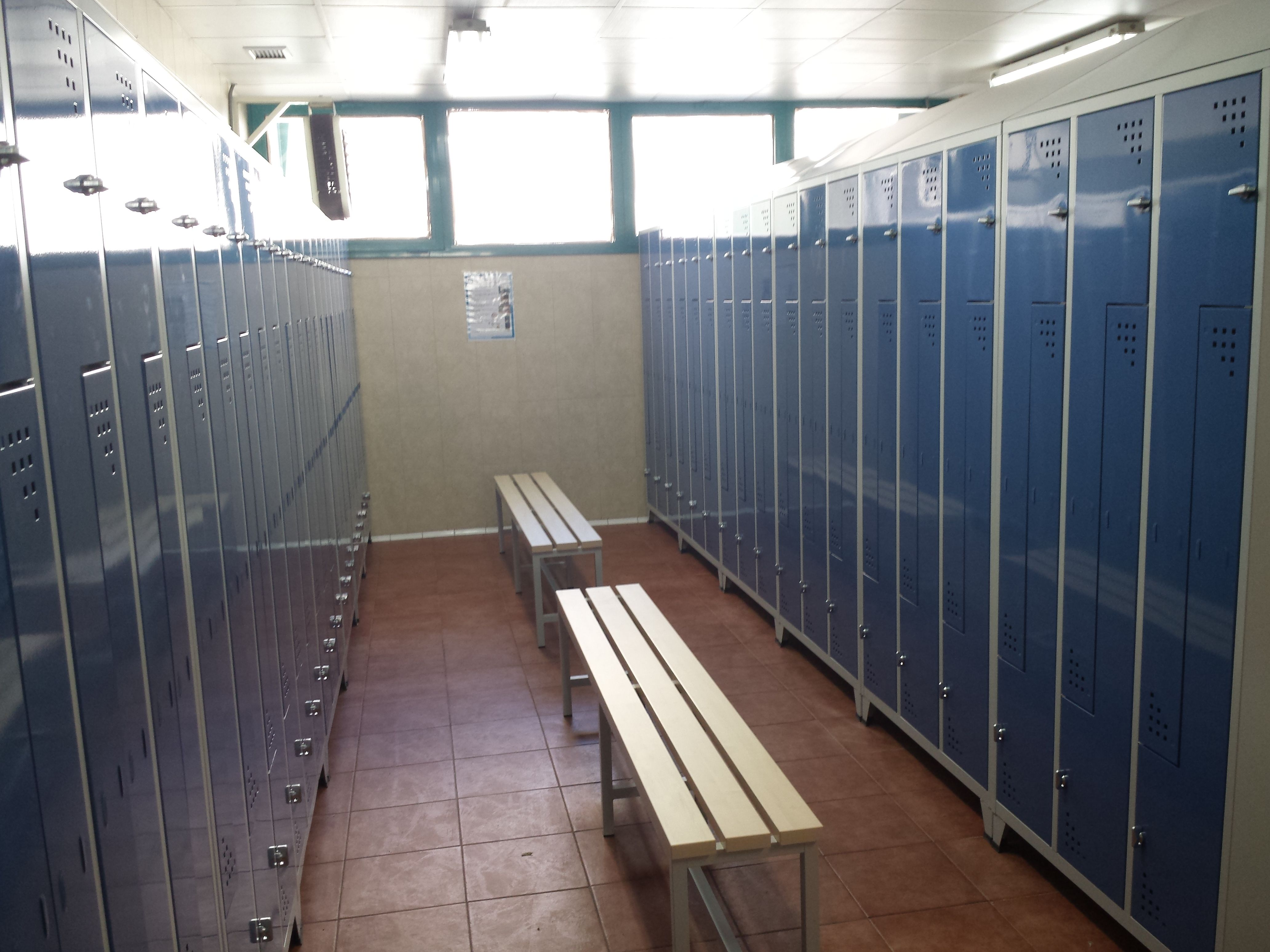 Taquillas y armarios para gimnasios y centros deportivos