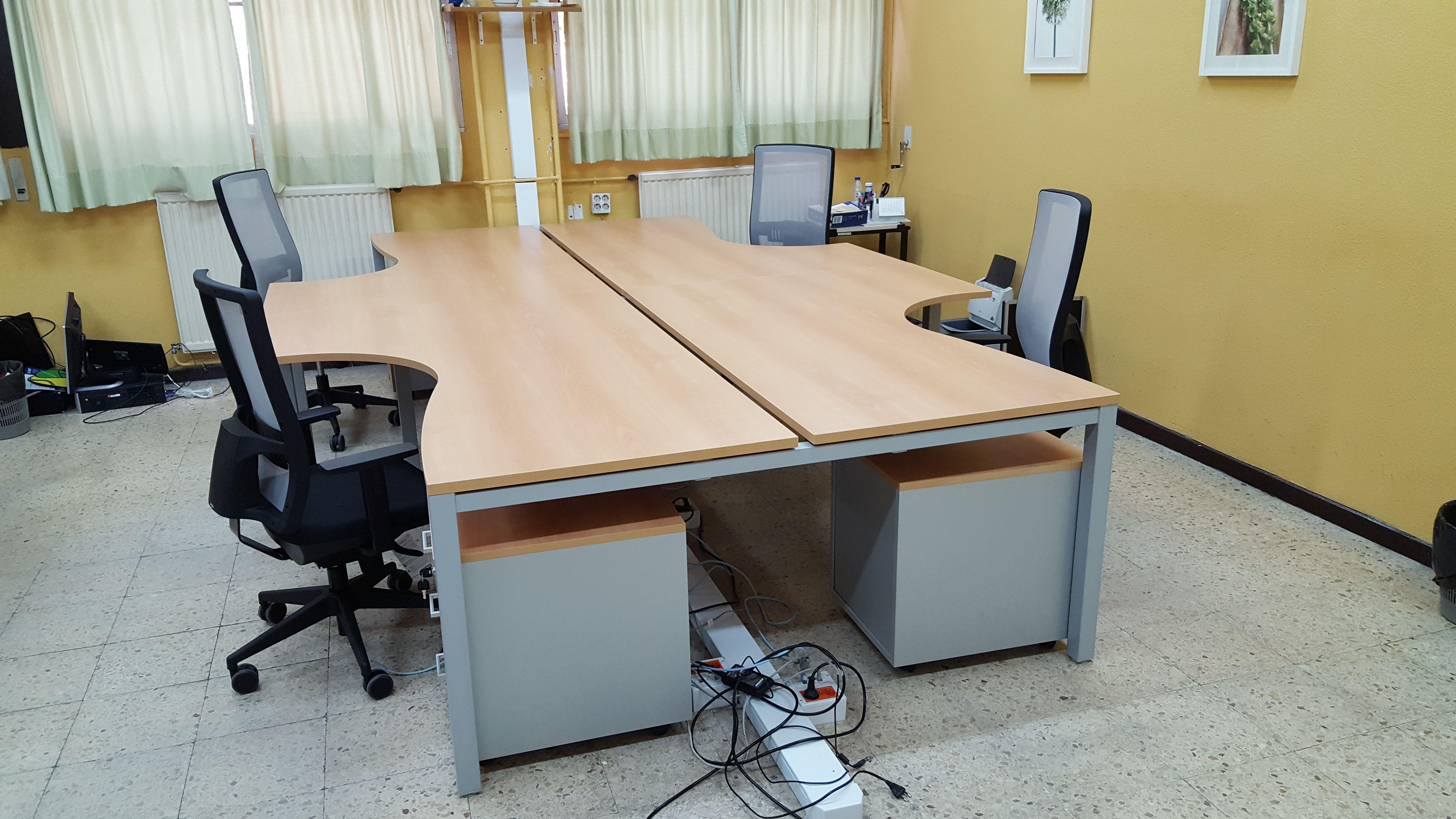 Mobiliario para oficinas y centros de enseñanza en Madrid