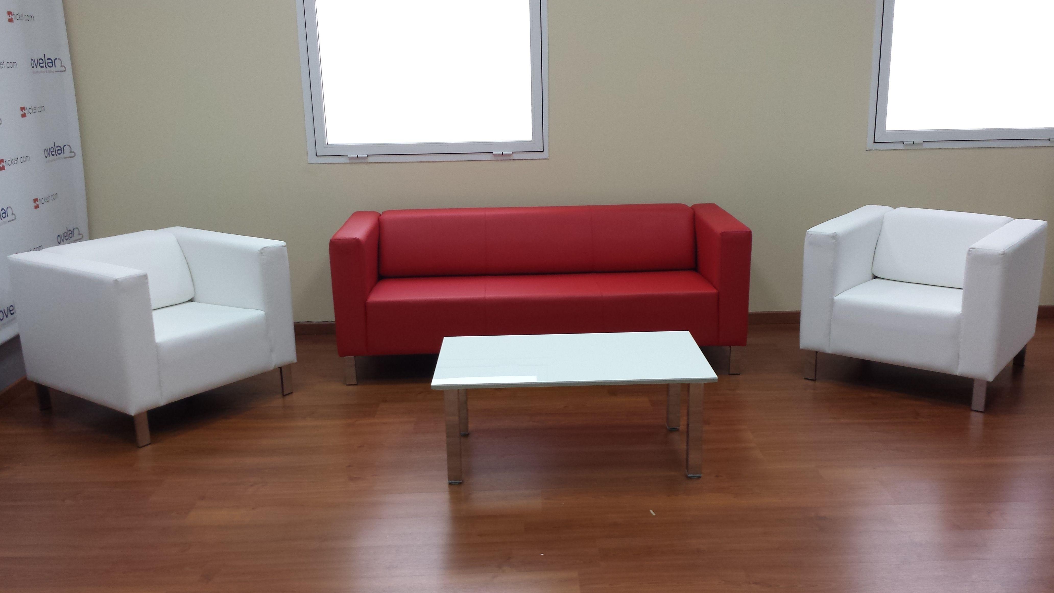 Equipamiento para salas de espera y recepciones