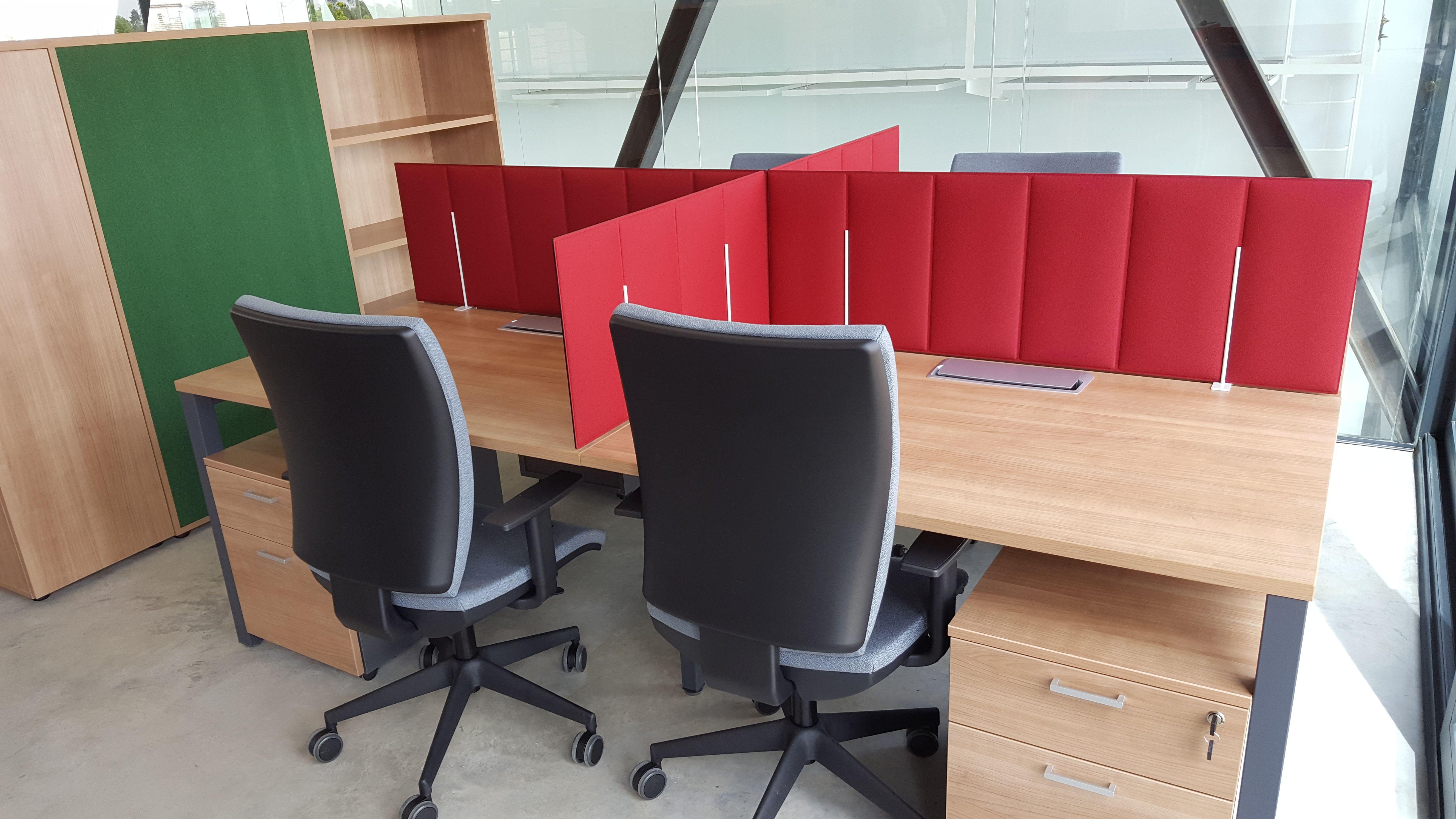 Venta de equipamiento integral para oficinas en Madrid