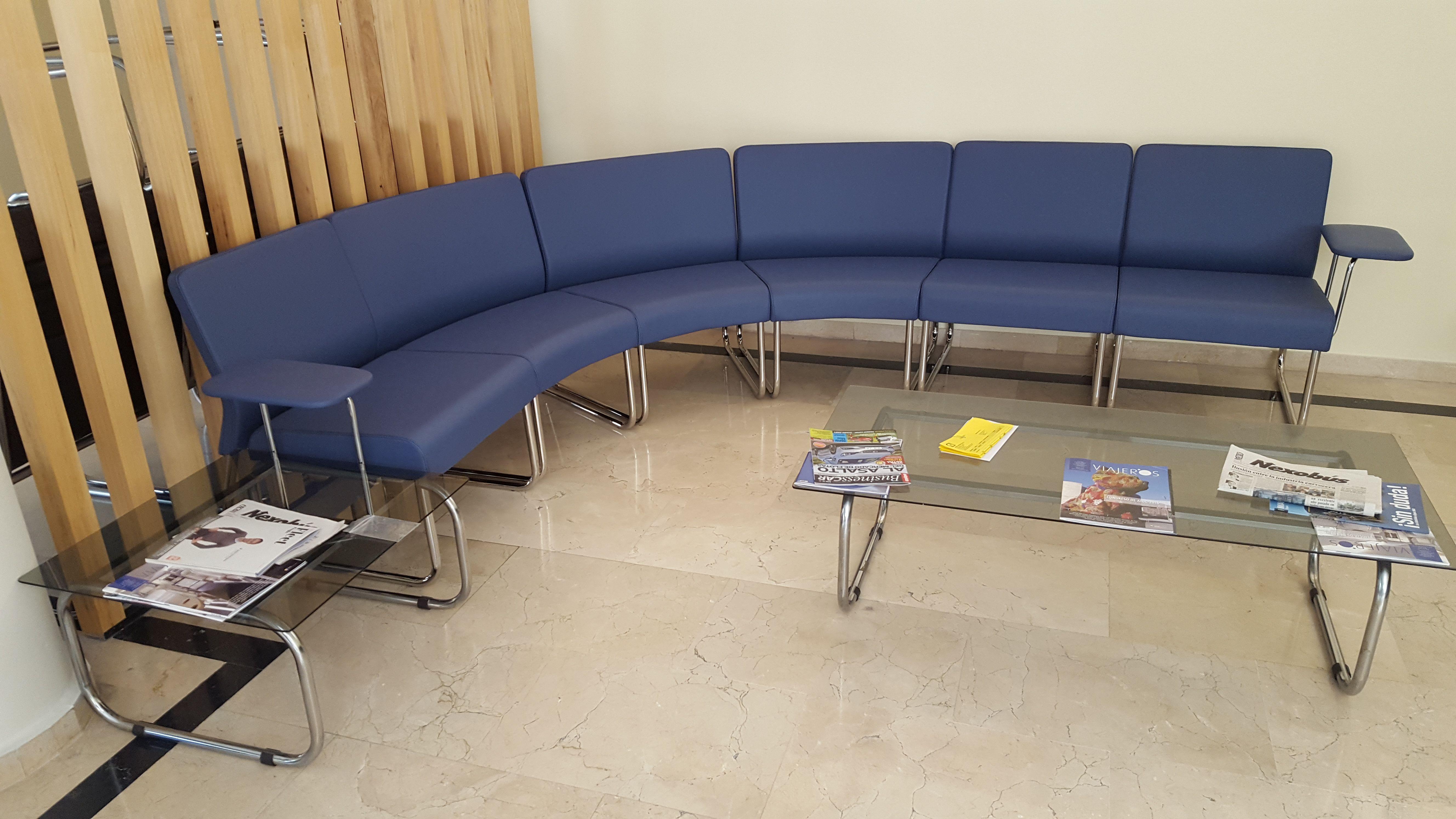 Mobiliario para salas de espera en Madrid