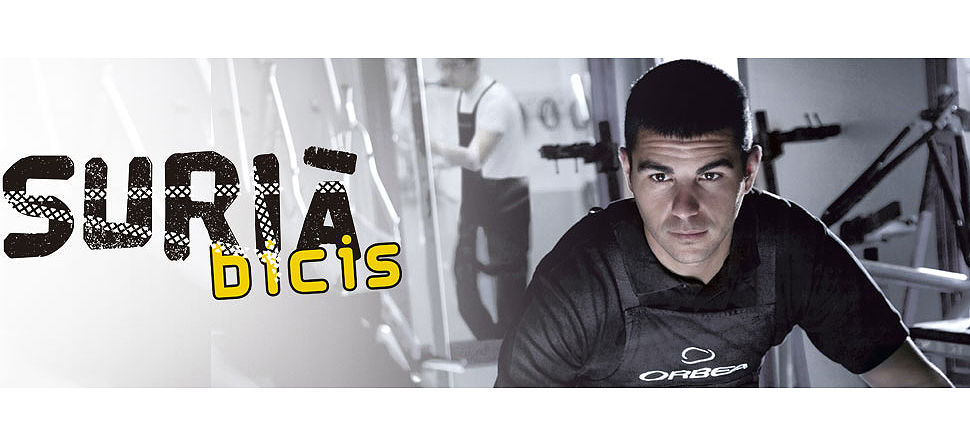 Surià bicis, disponemos de taller especializado y personal con formación.