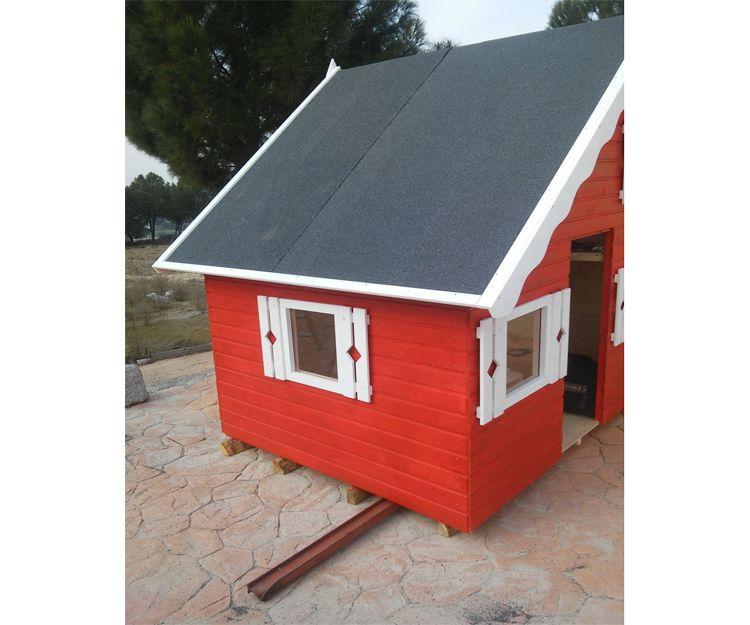 Casetas de madera en Villaviciosa de Odón