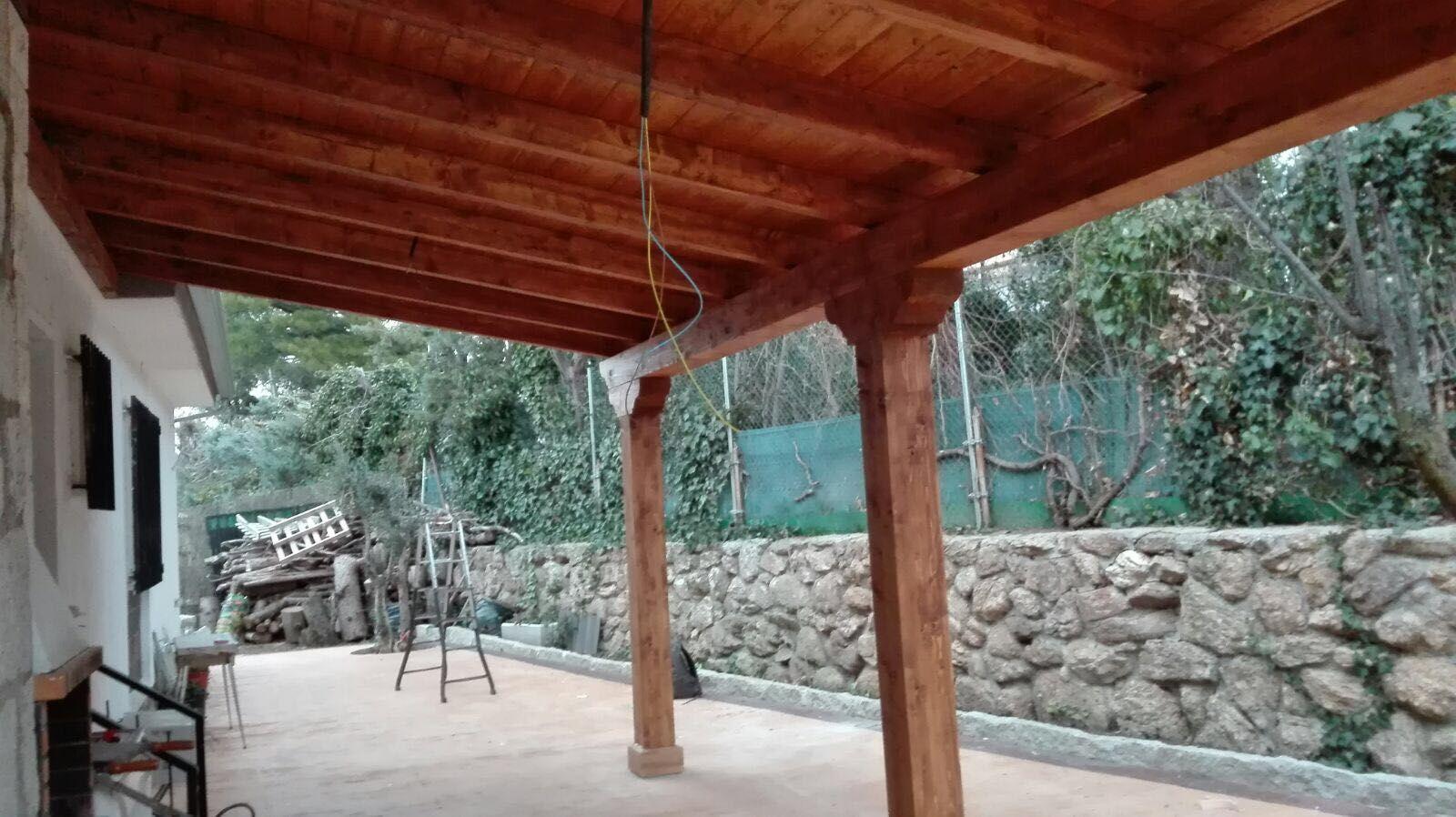 Cenadores para jardín en Villaviciosa de Odón