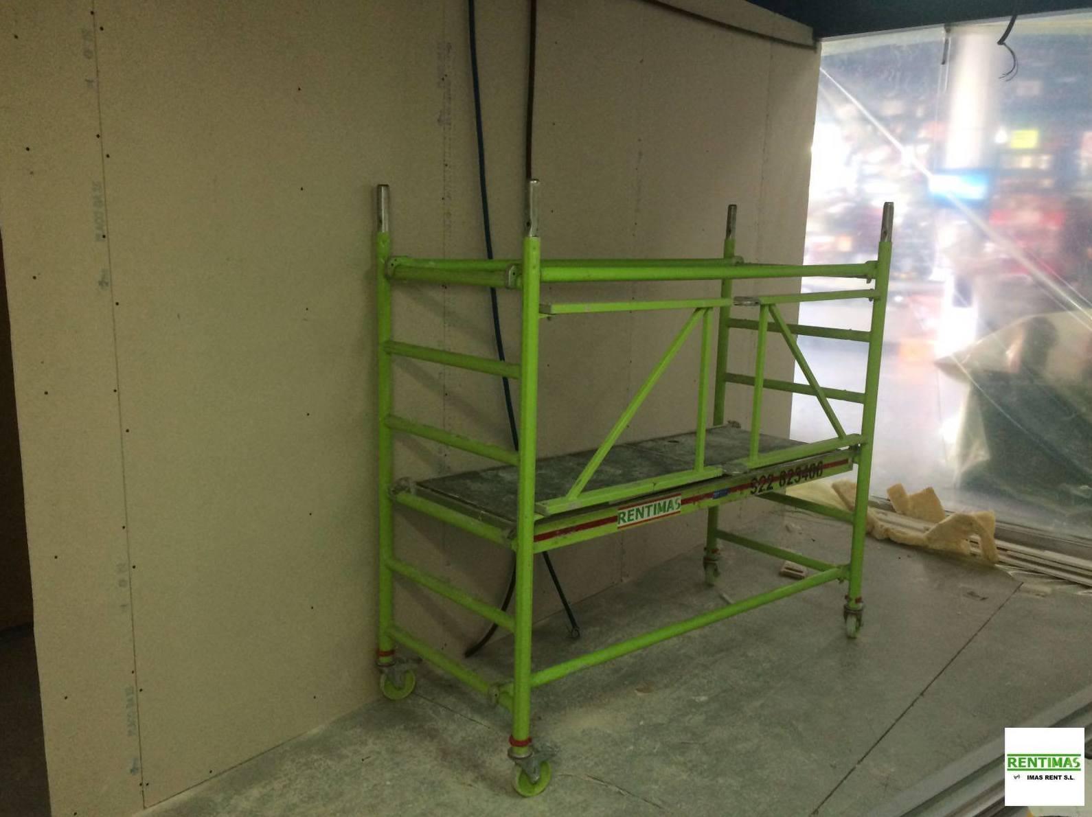 Alquiler de andamios para rehabilitaciones y reparaciones