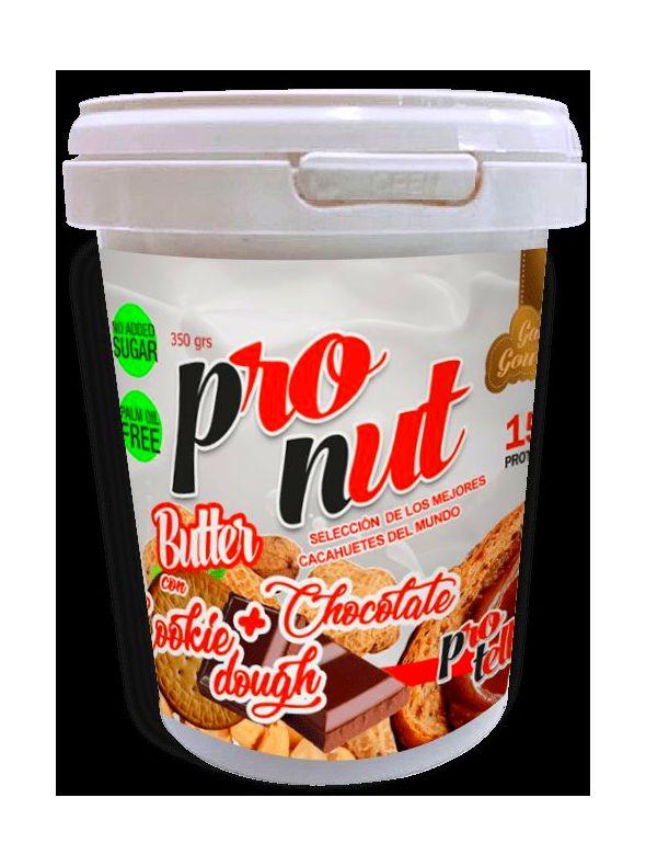 Crema cacahueta + protella + cookie : Productos de Dangore Fitnesshop