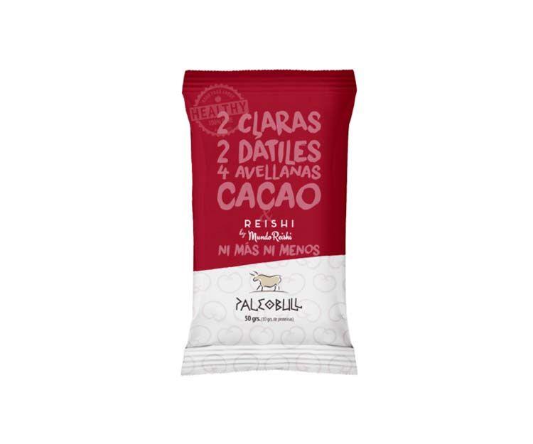 Barritas energéticas de reishi y cacao Paleobull en Vilafranca del Penedès