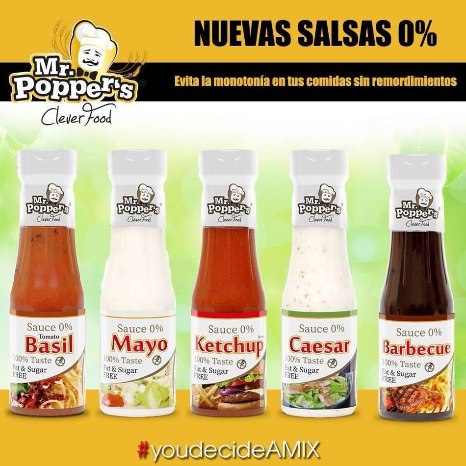 Nuevas salsas 0% Amix