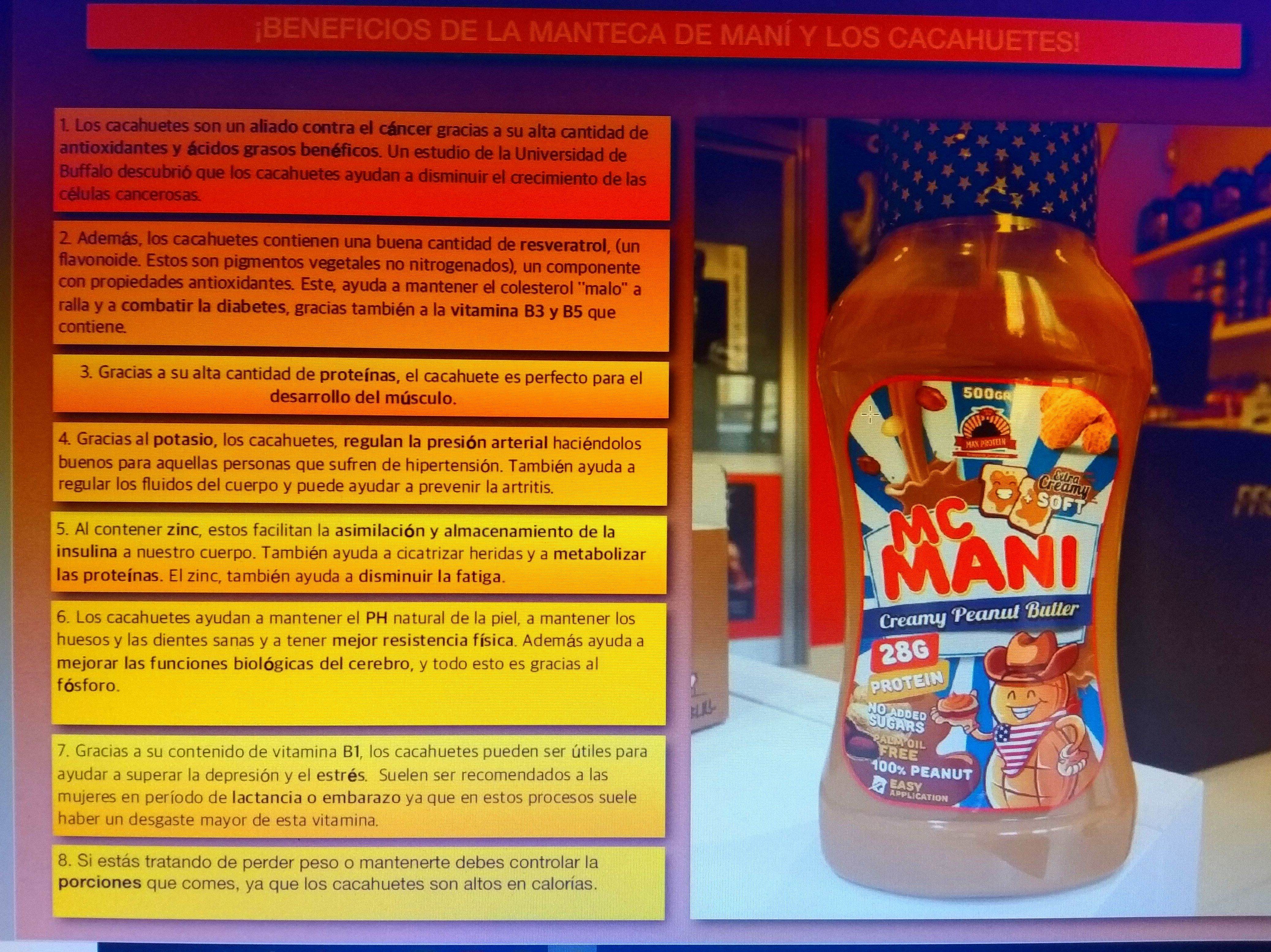 Crema de cacahuete McManni MaxProtein