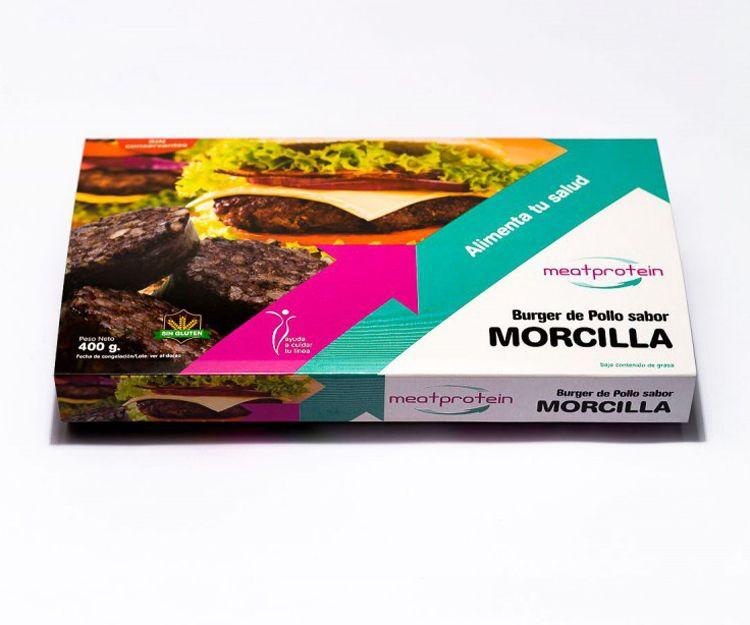 Hamburguesas de morcilla Meatprotein en Vilafranca del Penedès
