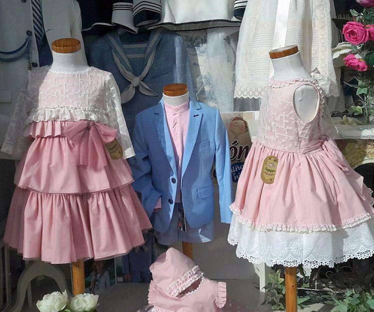 Moda para niños y niñas en Sevilla