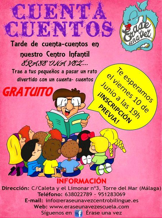 CUENTACUENTOS INFANTIL GRATUITO